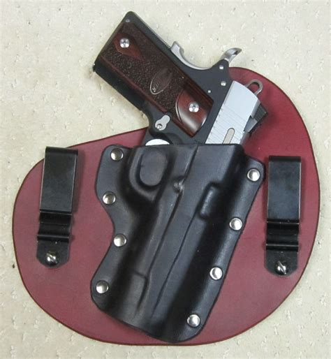 Handmade Gun Holsters - stirn holsters all leather custom made holsters