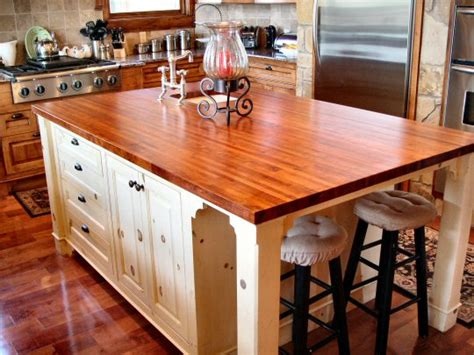 kitchen counter islands wood countertops