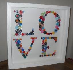 Buttons gift crafts pinterest