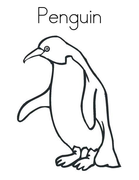 preschool coloring pages penguins penguin coloring pages preschool coloring home