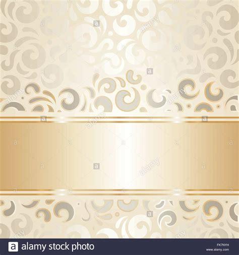 Wedding Background Gold by Retro Wedding Background Wallpaper Design Ecru Gold