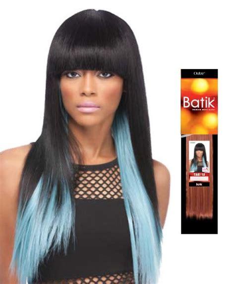 kanekalon and human hair tangles outre batik batik yaki wvg pakcosmetics