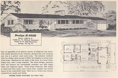 Vintage Ranch House Plans by Vintage House Plans 105h Antique Alter Ego