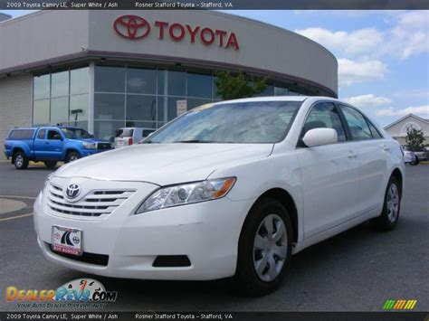 Toyota Camry 2009 White 2009 Toyota Camry Le White Ash Photo 1