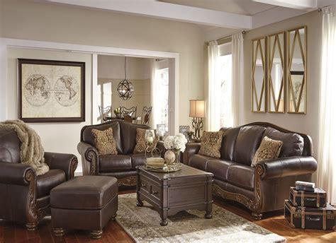 walnut living room furniture sets mellwood walnut living room set from coleman furniture
