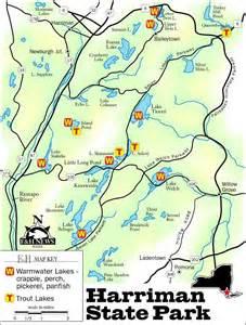 Harriman State Park Trail Map gone fishin