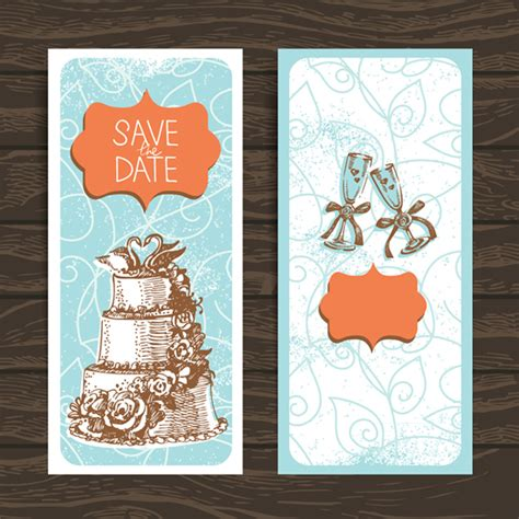 wedding cards design templates wedding invitation card design template vector vector
