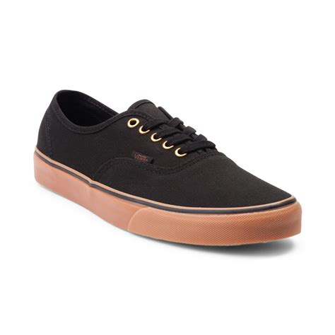 Vabs Authentic Navy Sole Gum vans authentic skate shoe black 498033
