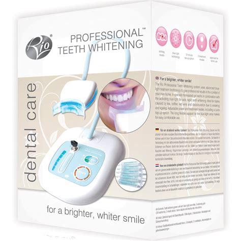 pro light dental whitening system reviews rio professional teeth whitening system device kit dental