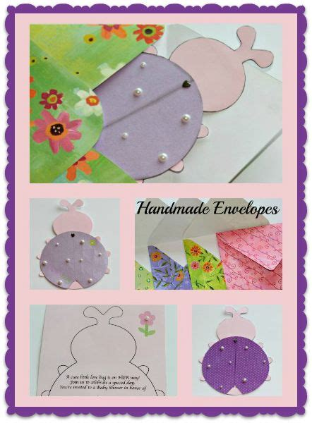 Handmade Baby Shower Invitation Ideas - bugs handmade and babies on