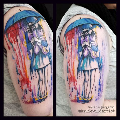 watercolor tattoo umbrella 112 best images about by heslop on