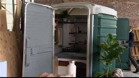 port a houses wants to convert porta potties into tiny porta homes