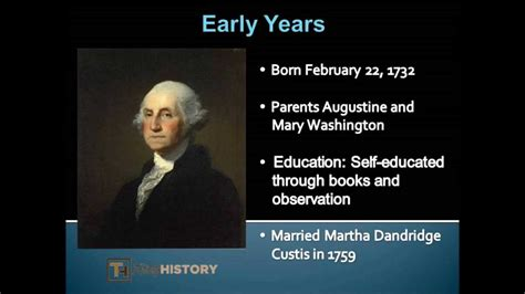 early life of george washington facts george washington facts and biography youtube