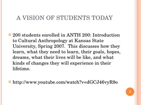 a vision of students today youtube engaging today s college students