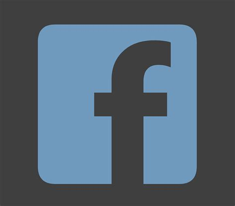 fb gratis free illustration facebook fb facebook logo free