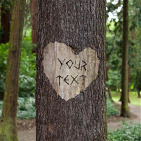 tree carving photofunia  photo effects