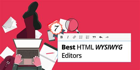 best editor html top 7 best wysiwyg html editor with javascript technig