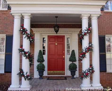 column decorations home make this pottery barn inspired christmas garland a
