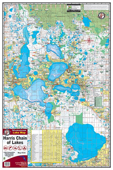 butler chain of lakes boat rs harris chain of lakes 330 kingfisher maps inc
