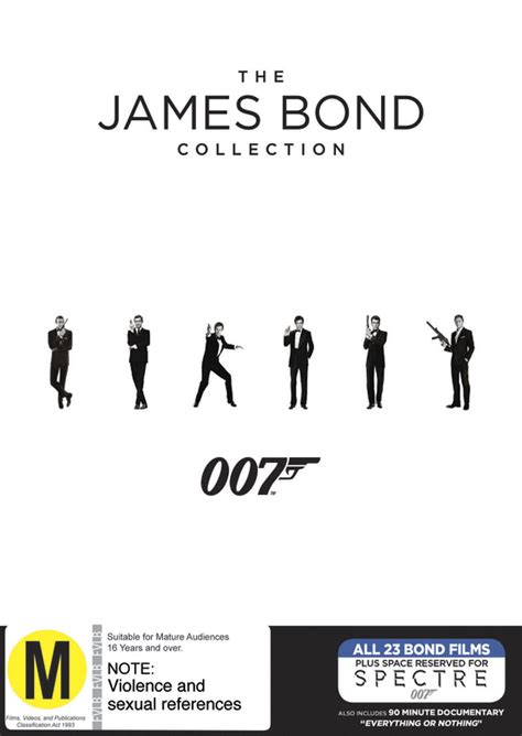 the complete james bond bond 50 the complete 23 james bond film collection dvd buy now at mighty ape australia