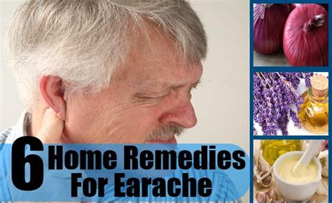 6 home remedies for earache treatments cure