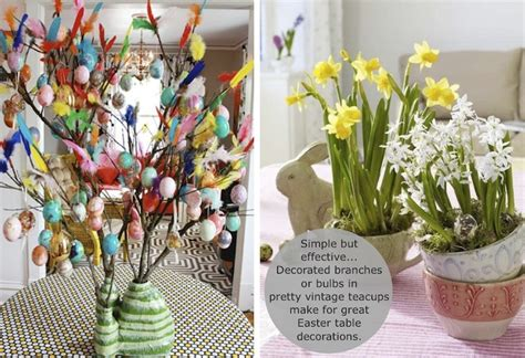 easter decorating ideas 45 amazing easter table decoration ideas godfather style