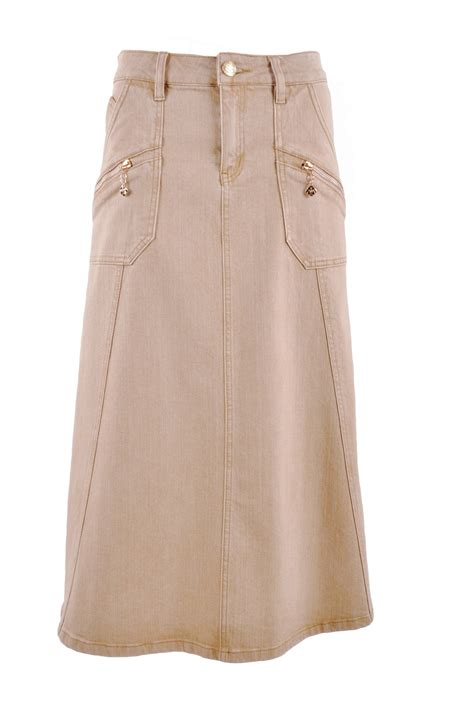 khaki skirt 55 images paul joe cotton maxi skirt in