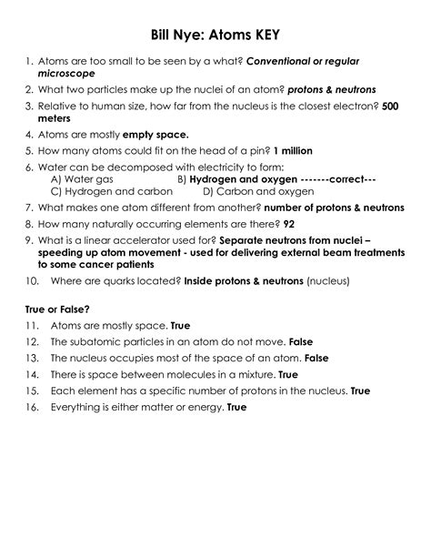 Bill Nye Atmosphere Worksheet Answers by 16 Best Images Of Bill Nye Wind Worksheet Answers Bill