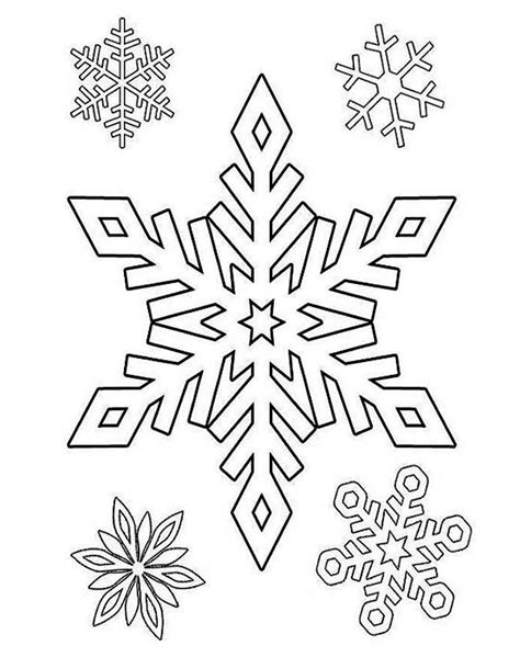 snowflake patterns coloring pages snowflake pattern coloring pages