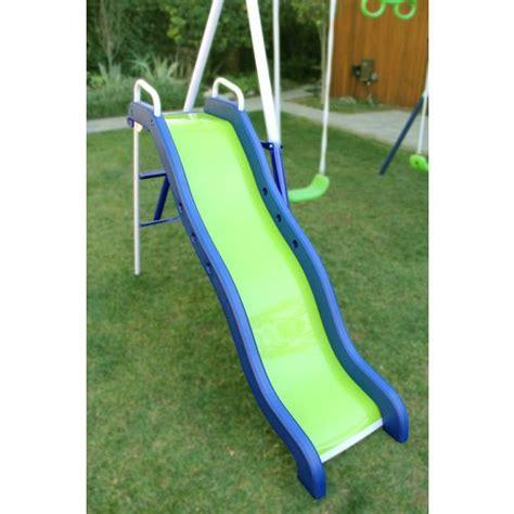 metal swing and slide set sportspower rosemead metal swing and slide set academy