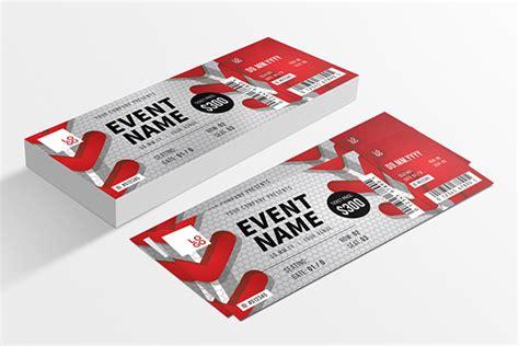 design of event tickets creative event ticket design designs net