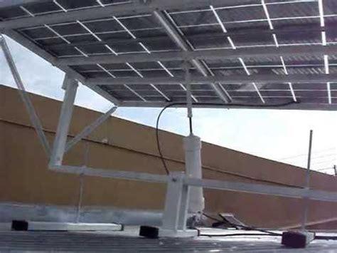 diy solar tracker mount how to build a solar tracker diy solar panel sun tracker
