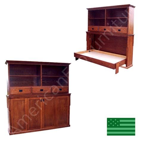 walden bookcase bed wall beds murphy bed made in usa american eco furniture