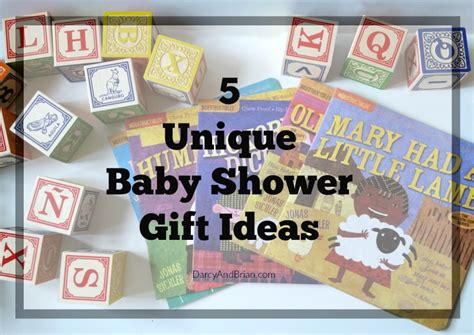 unique gifts ideas 5 unique baby shower gift ideas