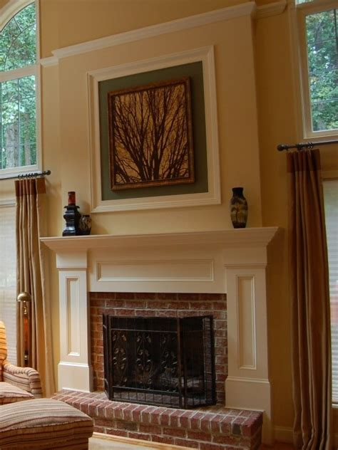 wood trim around fireplace 22 best images about fireplace makeover on