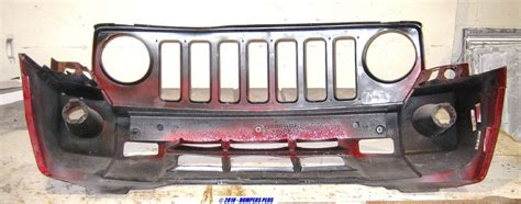 Jeep Patriot Tow Hooks 2008 2010 Jeep Patriot W Tow Hooks Front Bumper Cover