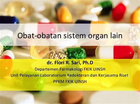 Obat Obatan obat obatan sistem organ