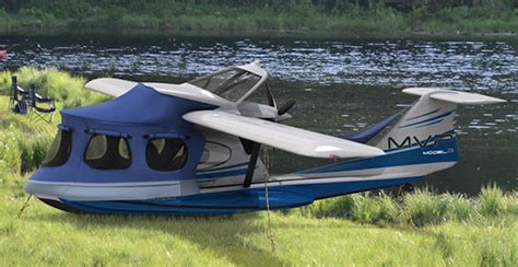 pontoon plane for sale a flying rv the mvp model 3 takes rving to the next era