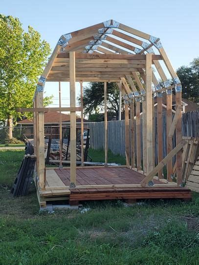 ez builder barn style shed framing kit   home