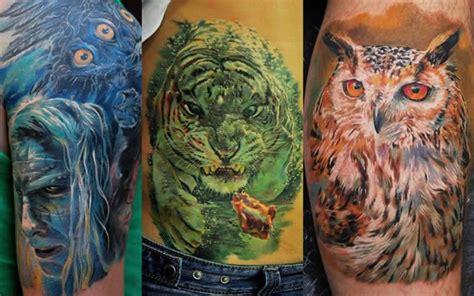 imagenes de tatuajes realistas de animales tatuajes realistas espectaculares de dmitriy samohin