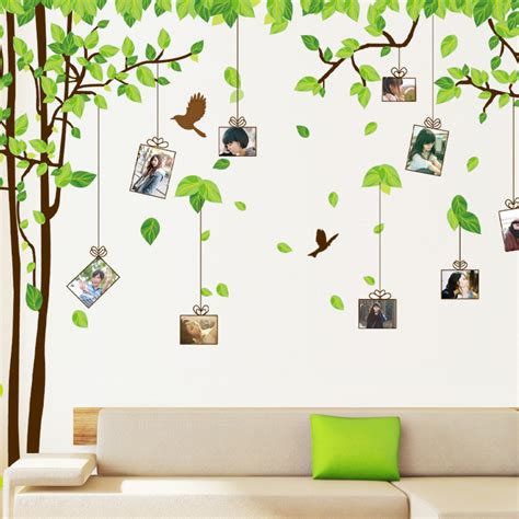 Home Decoration Stickers Wall Stickers House Stickers Photo Frame Stickers Flowers Butterflies Trees Decoration Home