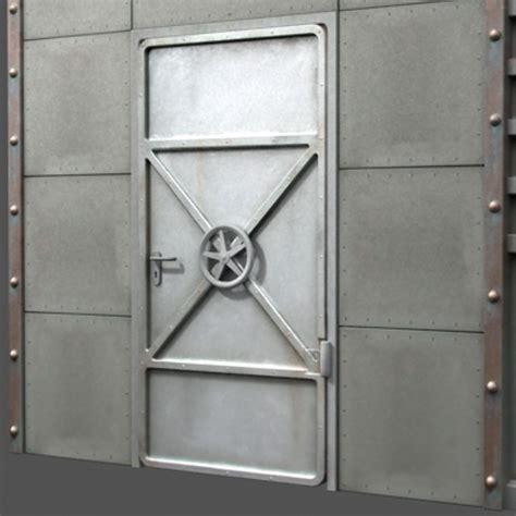 Reinforced Door by 3d Model Reinforced Metal Door