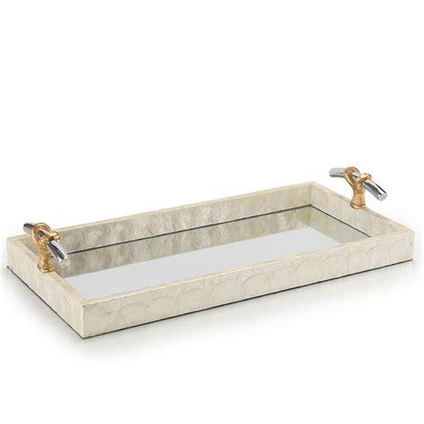 Corner Vanity Tray by Vanity Tray Frontgate