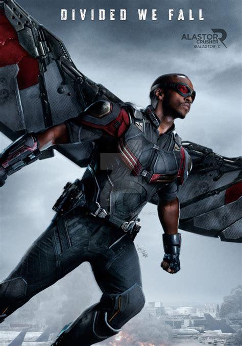 Falcon Civil War character falcon civil war by alastorcrusher on deviantart