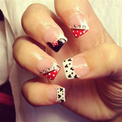 disney pattern nails disney design nails how you can do it at home pictures
