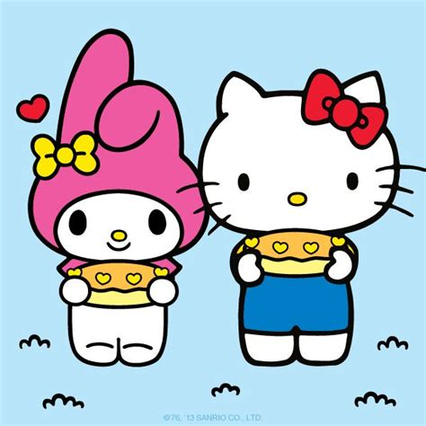 imagenes de hello kitty y melody my melody and hello kitty hello kitty and friends