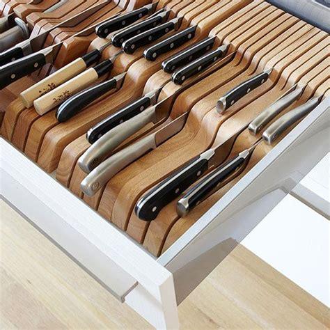 Kitchen Knife Storage Ideas Best 25 Cutlery Drawer Insert Ideas On Pinterest