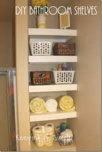 cheap bathroom shelves and storage small bathroom storage solution diy shelves easy
