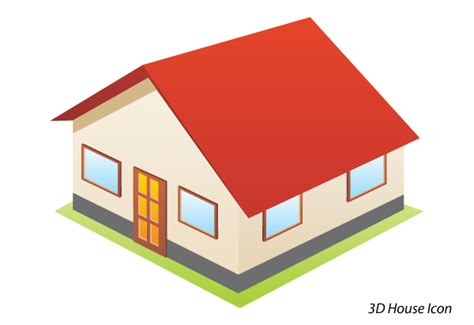 House Free by House Clipart 3d Clipartsgram