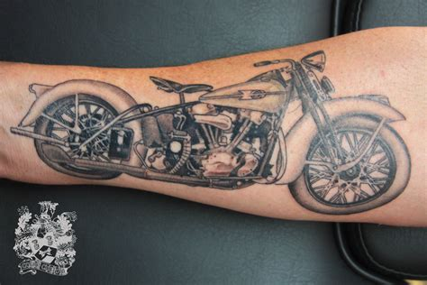 motorcycle tattoos motorcycle cobra custom